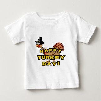 Happy Turkey Day Thanksgiving Baby T-Shirt