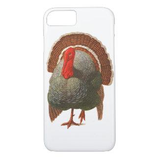 Happy Turkey Day Vintage Turkey iPhone 7 Case