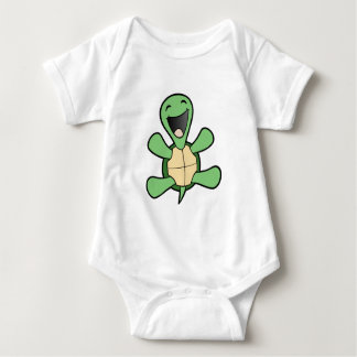 Happy Turtle Baby Bodysuit