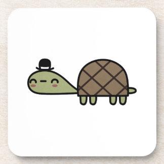Happy Turtle Beverage Coaster