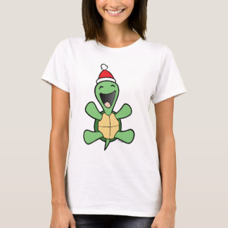 Happy Turtle Christmas T-Shirt