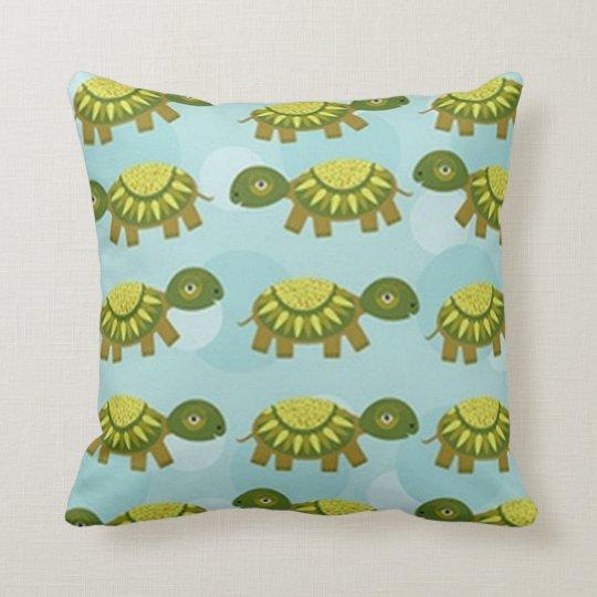 Happy Turtle Cushion