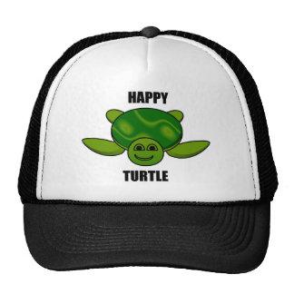 Happy turtle mesh hat