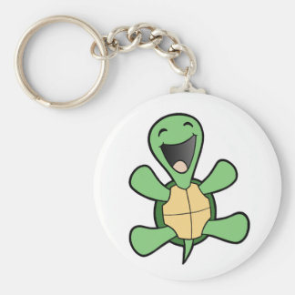 Happy Turtle Key Ring