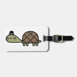 Happy Turtle Luggage Tag
