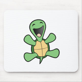 Happy Turtle Mouse Mat