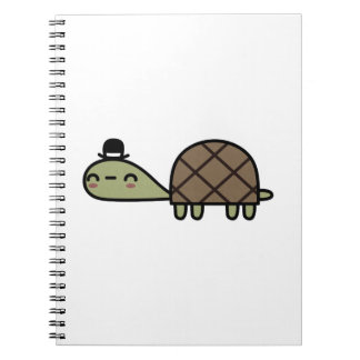 Happy Turtle Spiral Notebooks