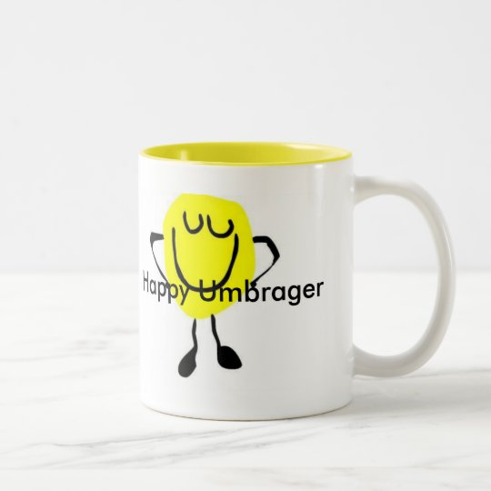 Happy Umbrager Two-Tone Coffee Mug