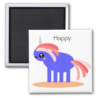 Happy Unicorn Magnet