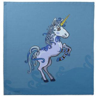 Happy Unicorn Power Napkin