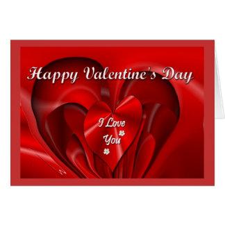 Happy Valentine's Day Greeting Card