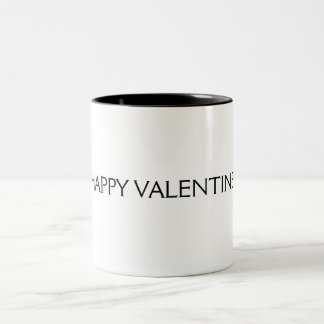 HAPPY VALENTINE CARDS Two-Tone COFFEE MUG