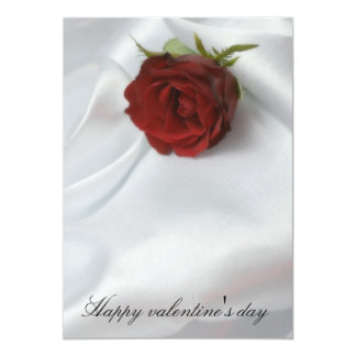Happy valentine' S day 13 Cm X 18 Cm Invitation Card