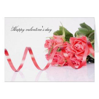Happy valentine' S day Greeting Card