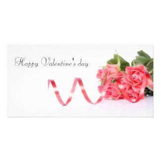 Happy Valentine' S day Customised Photo Card