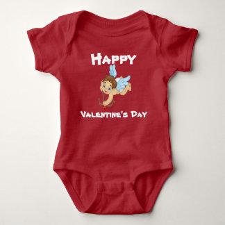 Happy Valentines Day Baby Bodysuit