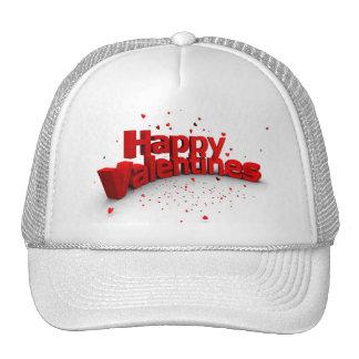 happy Valentines Day Cap