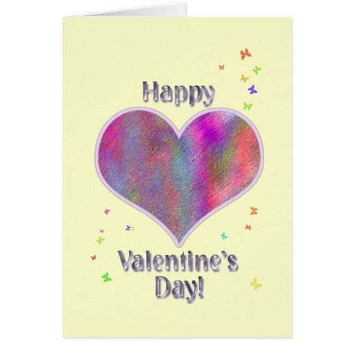 Happy Valentine's Day! Greeting Cards
