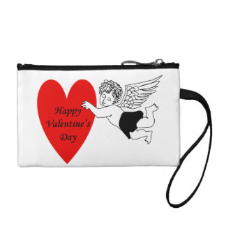Happy Valentine's Day Cupid Coin Purse