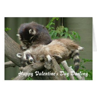 Happy Valentine's Day Darling Greeting Card