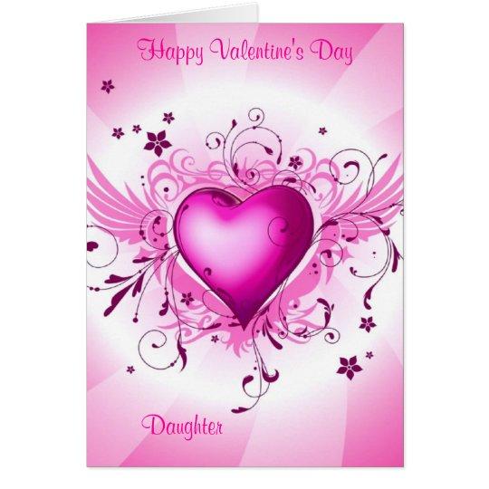 Happy Valentine's Day Daughter Card