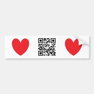 Happy Valentine's Day - English Bumper Sticker
