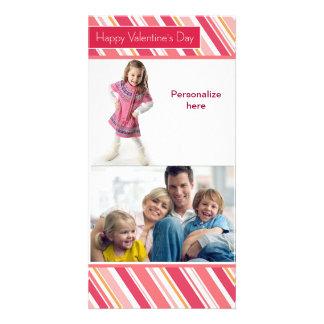 Happy Valentine's Day Family Card Photo Card