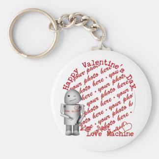 Happy Valentine's Day From Robo-x9 Key Chain