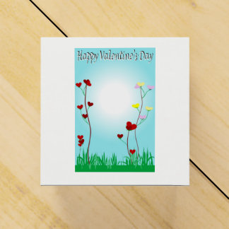 Happy Valentine's Day gift box Favor Boxes