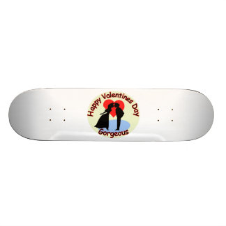 Happy Valentine's Day Gorgeous Skate Board