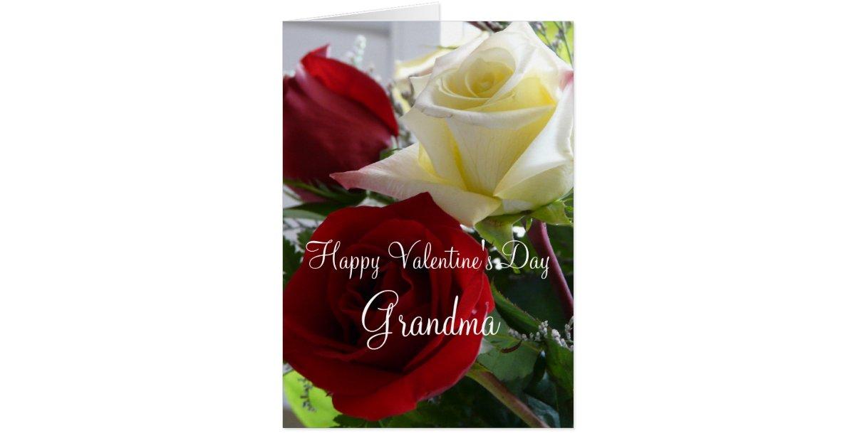Happy Valentine's Day Grandma OR Grandpa! Greeting Card ...
