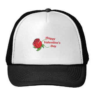HAPPY VALENTINES DAY TRUCKER HAT