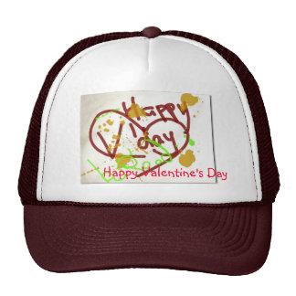 Happy Valentine's Day hat