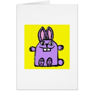 """""""Happy Valentine's Day, Hunny Bunny!"""" - Card"""