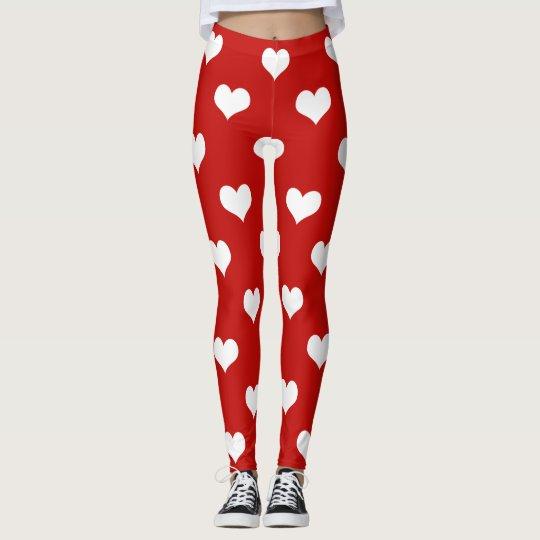 Happy Valentine's Day Leggings