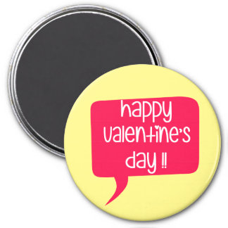 Happy Valentine's Day! Magnet
