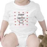 Happy Valentine's Day Mum Baby Creeper