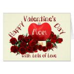 Happy Valentine's Day Mum Greeting Card
