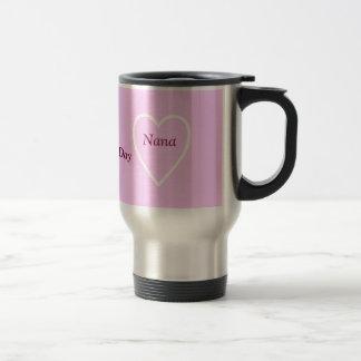 Happy Valentine's Day Nana - I Love You Stainless Steel Travel Mug