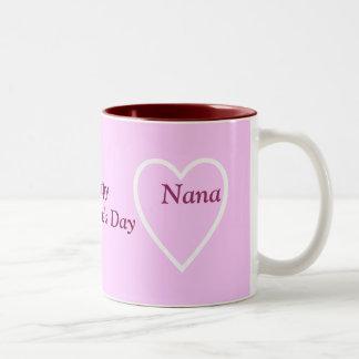 Happy Valentine's Day Nana - I Love You Mugs