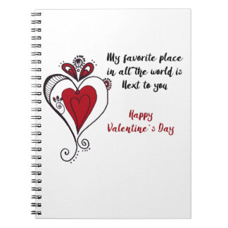 Happy Valentine's Day Notebook