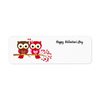 Happy Valentine's Day Owls