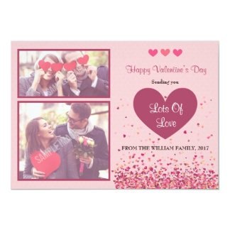Happy Valentine's Day Photo Card
