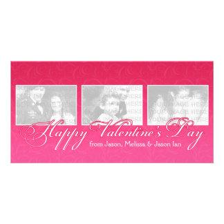 Happy Valentine's Day Photo Picture Card