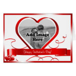 Happy Valentine's Day! Photo Template Greeting Card