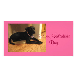 Happy Valentines Day Photo Card Template