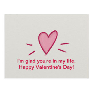 Happy Valentine's Day Postcards