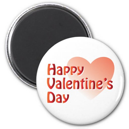 Happy Valentine's Day Products Fridge Magnets