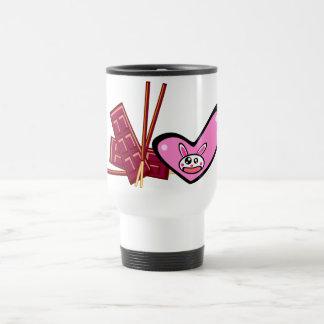 Happy Valentine's Day(rabbit) Travel Mug