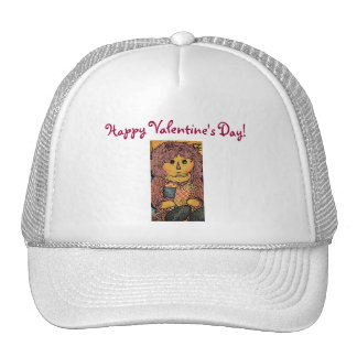 Happy Valentine's Day!-Rag Doll Design-Hat Cap